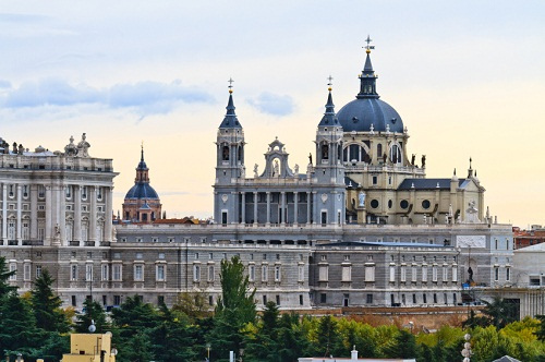 Santa María la Real de La Almudena is the Catholic cathedral in Madrid