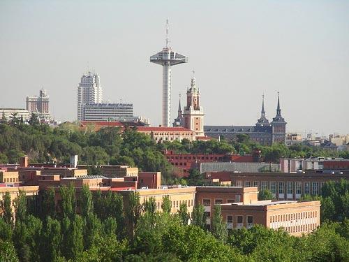 Complutense University of Madrid campus La Moncloa