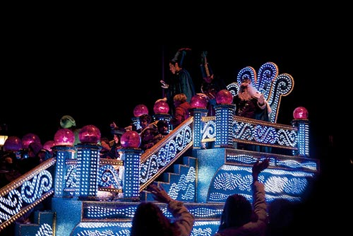 The Magi Float in the Madrid Epiphany Parade