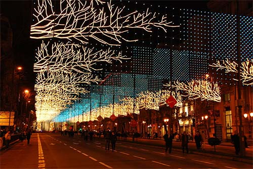 Madrid Christmas Lights