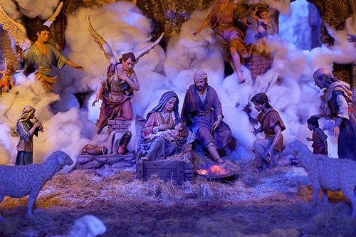 Nativity Scene in Madrid's Town Hall