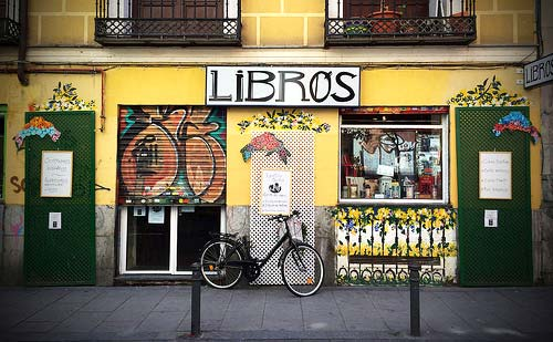 Book Store in the Malasaña district