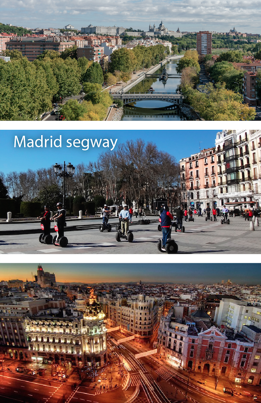 madrid spain segway