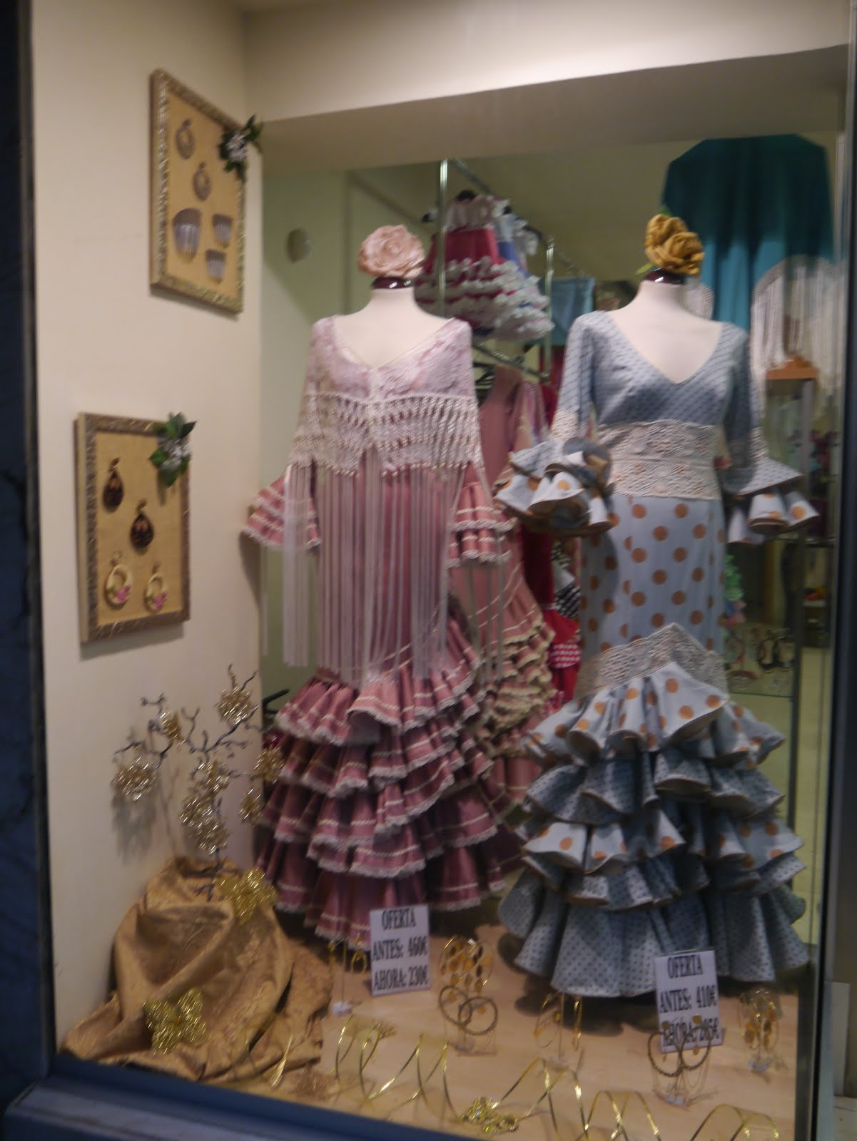 flamenco woman dress