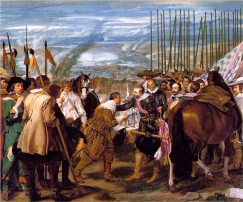 the-surrender-of-breda-by diego de velazques