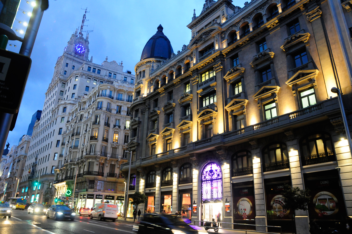 New Casino in the Center of Madrid