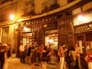 Historic restaurants in Madrid, Madrid tapas tour