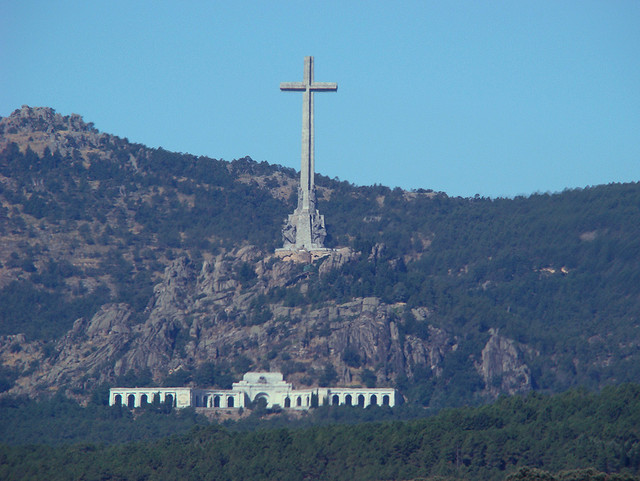 the Valley of the Fallen, an amazing construction located in Guadarrama Mountains, not too far from El Escorial and Madrid