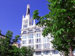 ME Reina Victoria boutique hotel in Madrid