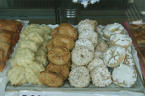 Madrid traditional sweets and cakes