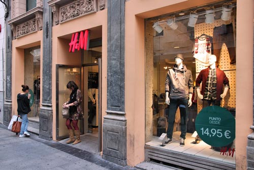 H&M Store in Las Rozas Village