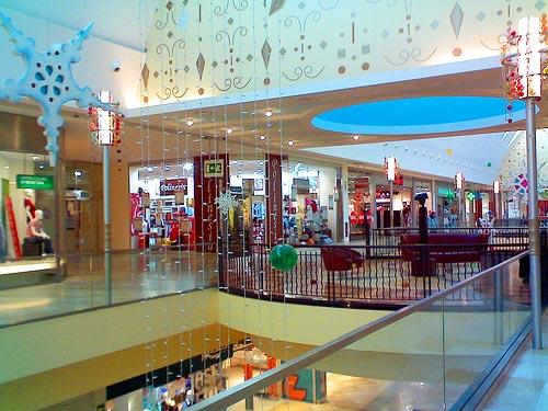 Inside Xanadu Shopping Mall