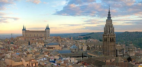 Toledo Fotress and Cathedral