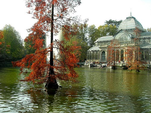 Retiro Park in Autumn