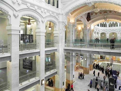 Main Hall Centrocentro Madrid