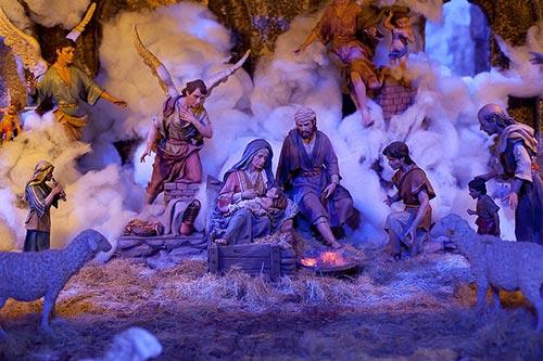 Nativity Scene in Madrid's Town Hall