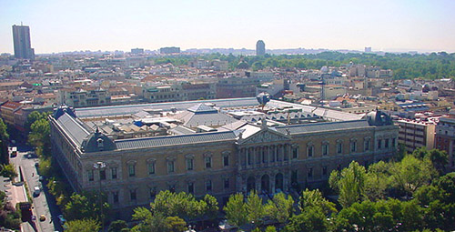 National Library in Madrid