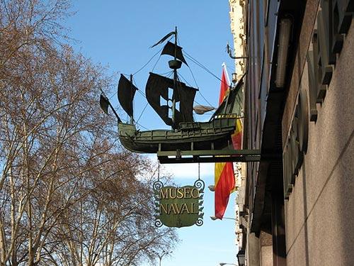 Museo Naval Madrid Entrance