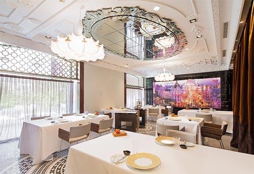 Ramon Freixa Restaurant Inside