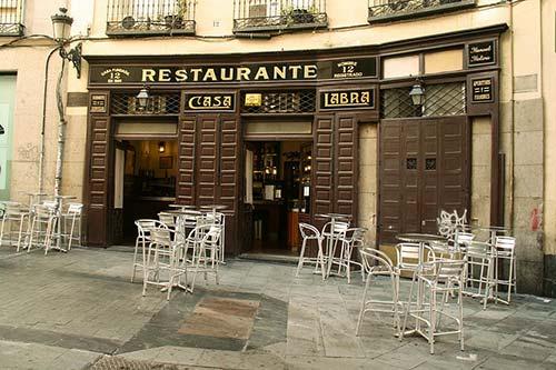 Restaurant Casa Labra, Madrid