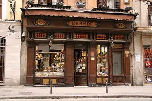 facade Lhardy Madrid