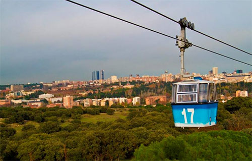 Madrid from the Cable Car