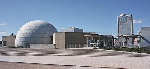 Madrid Planetarium Entrance