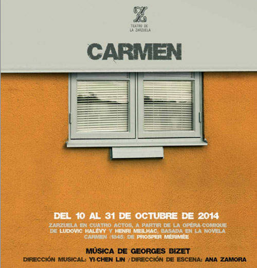 Carmen Opera in Teatro de la Zarzuela Madrid