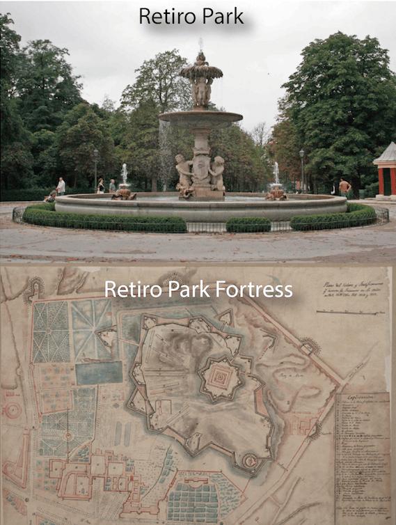 retiro madrid spain park
