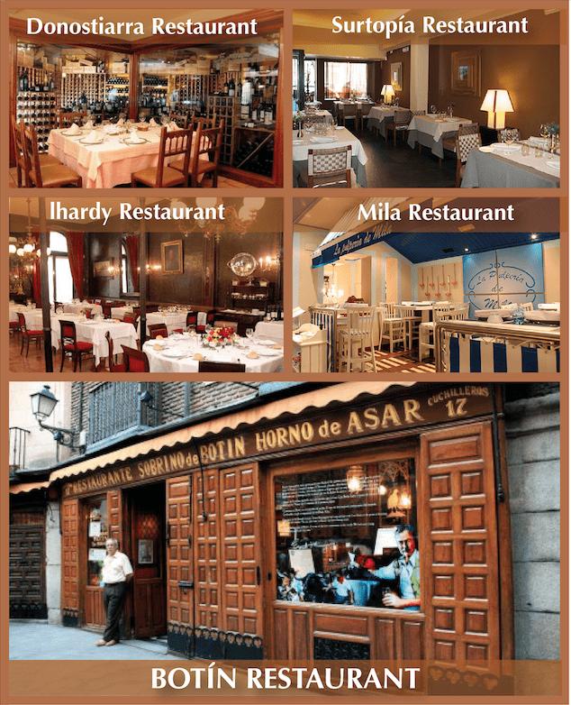 top 5 restaurants wtd