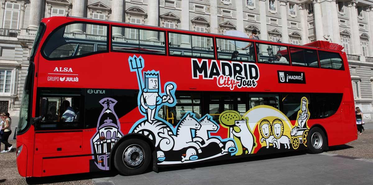 bus tour madrid
